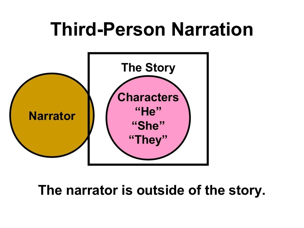 First Second And Third Person Lesson