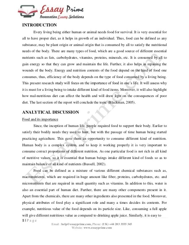 balanced food for healthy life essay Which leads to others consider that a regular balanced eating habit is far  to  withstand the sudden pressure that might occur in everyday life.