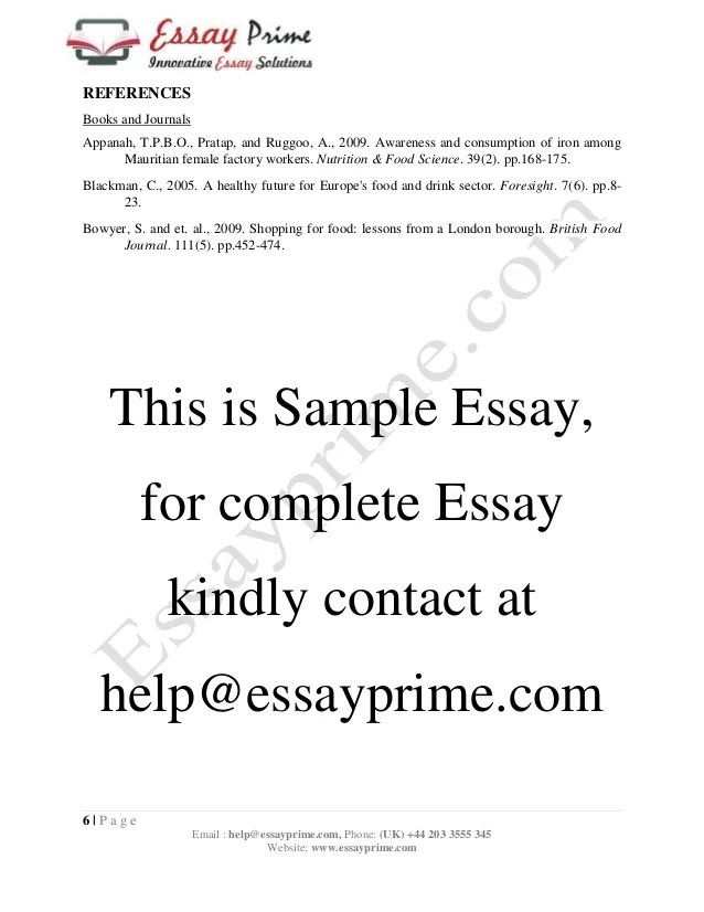 Essay Generators Essay On Importance Of Healthy Food Writing Service Common Sense Essays also Selling Essays Fast Food Essay Topics  Foodfashco Facilitating Learning And Assessment In Practice Essay