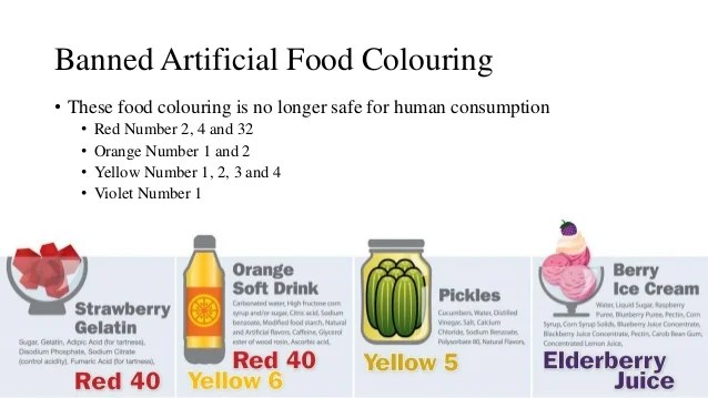 artificial food coloring side effects | Foodfash.co