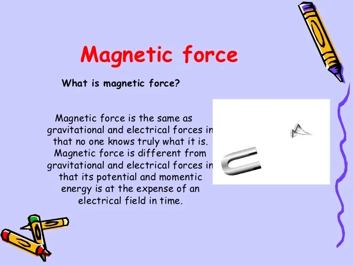 What is magnetic force? - mccnsulting.web.fc2.com