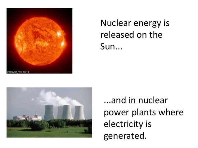 What Are Examples Nuclear Energy