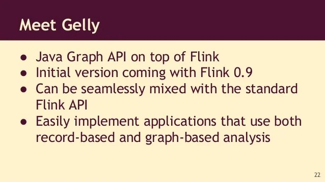 Large-scale graph processing with Apache Flink ...