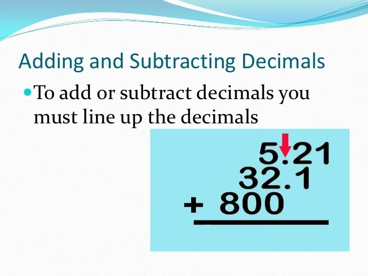 Fractions Decimals Whole Numbers And Line Numbers