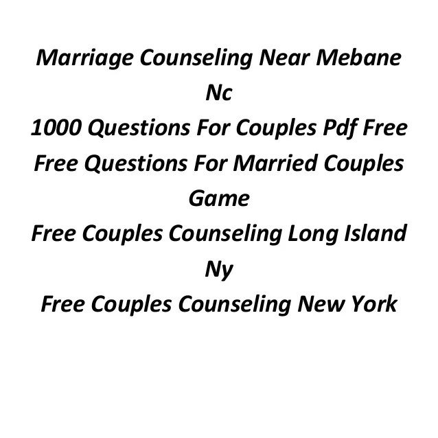 Fun Questions Before Marriage