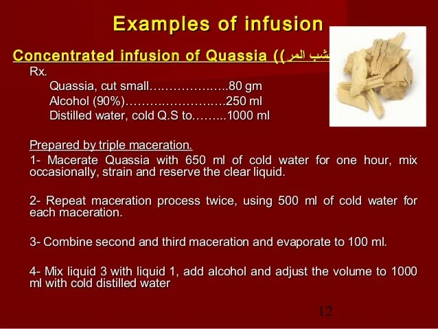 Process Cold Extraction Maceration