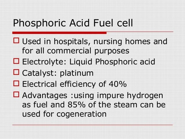 General fuel cell