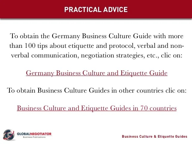 Image Result For Business Etiquette In Germany
