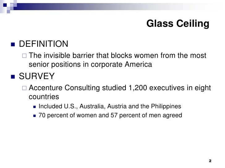 Superb The Term Glass Ceiling Refers To Americanwarmoms Org