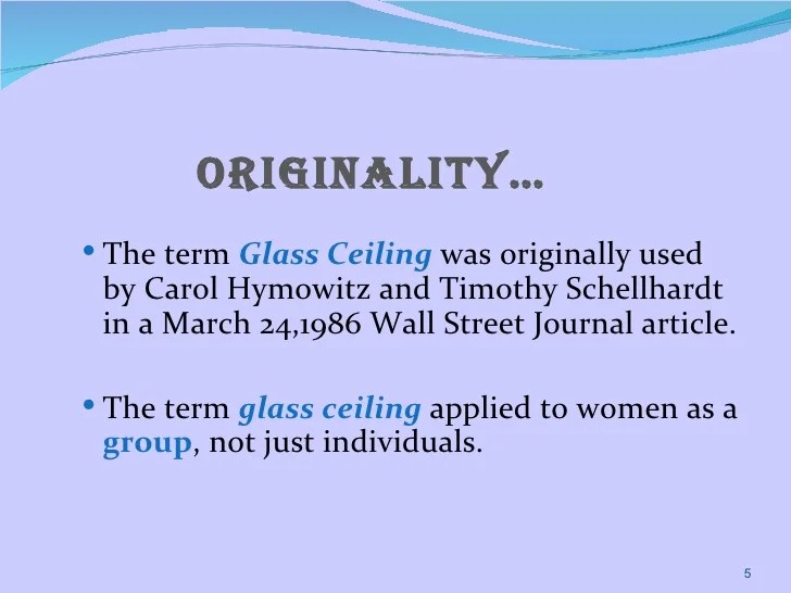 What Is The Meaning Of Term Glass Ceiling Www Gradschoolfairs Com