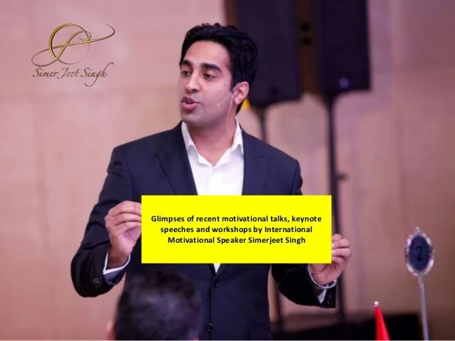 Glimpses of Keynote Speeches and Workshops by Motivational ...