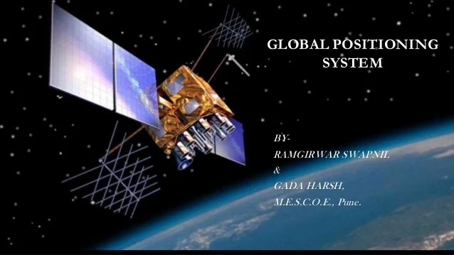 Global positioning system ppt