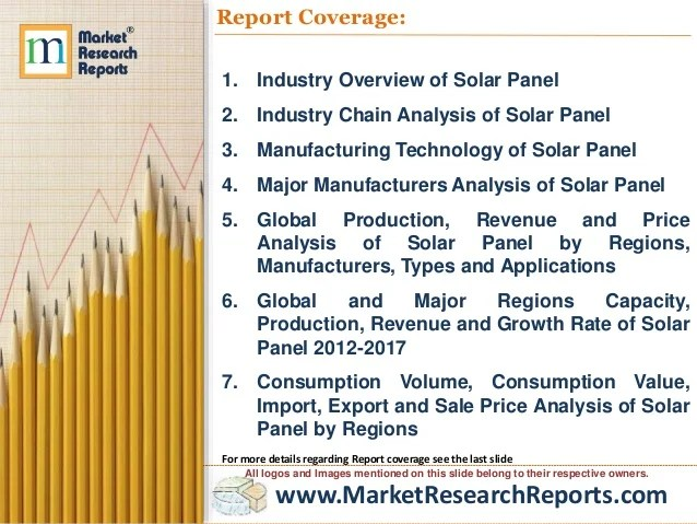 Global Solar Panel Industry Market Research 2017