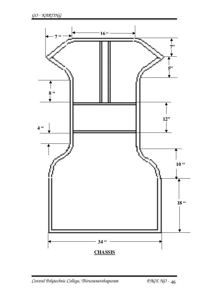go kart frame measurements | Frameswalls.org