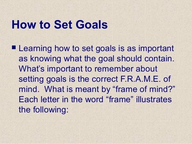 What Is Meant By Frame Of Mind   Framesite.co