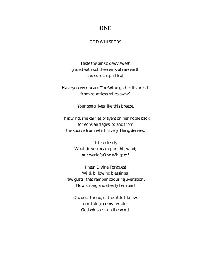 Knit Poem From The Heart