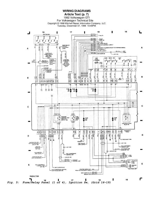 Vw Golf 7 Wiring Diagram Download  Somurich
