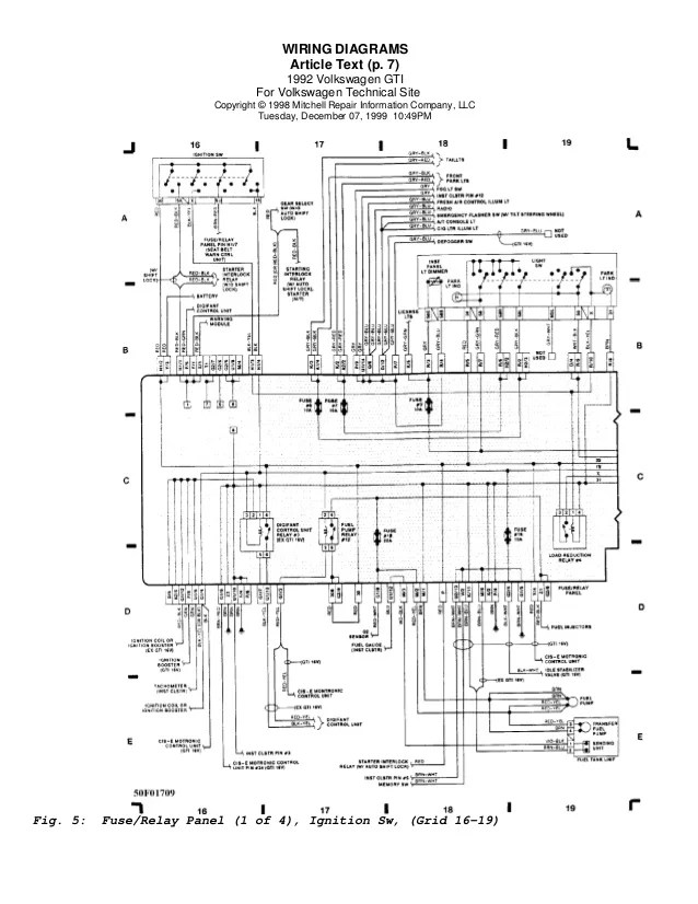 Mk3 Golf Wiring Diagram  Somurich