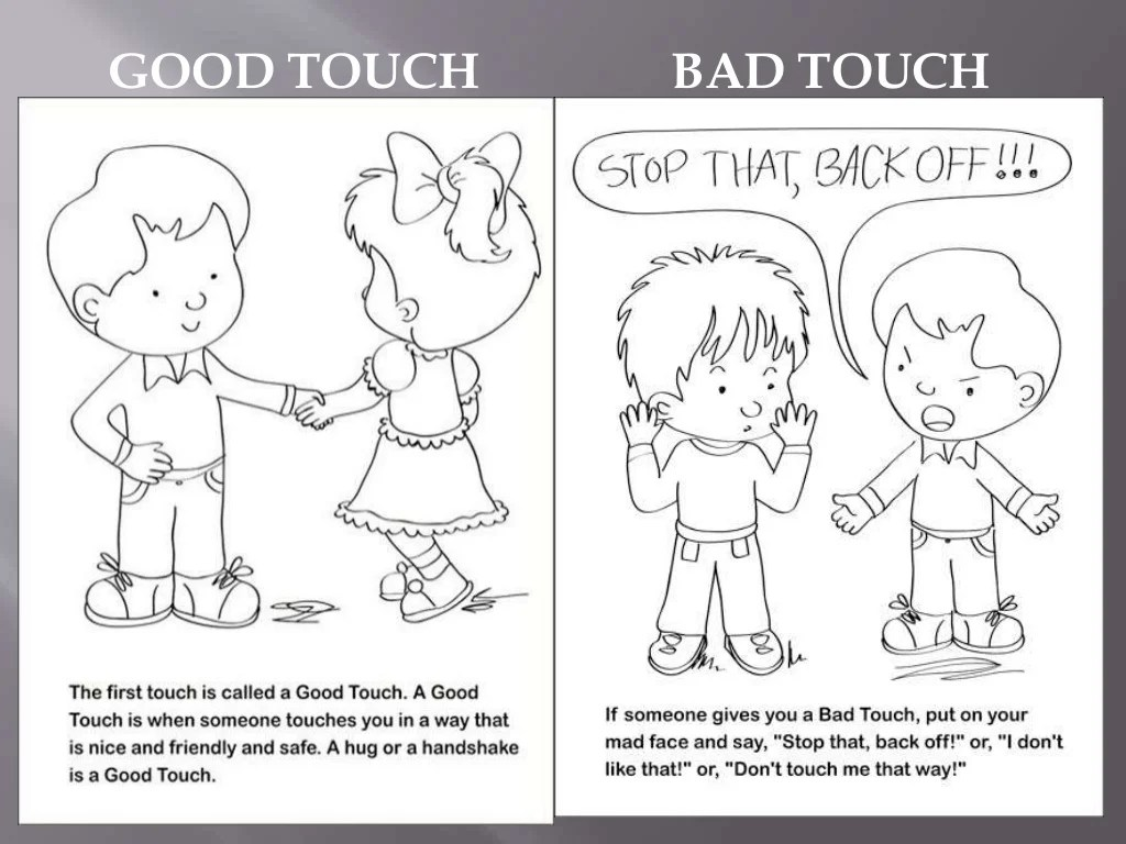 Good Touch Amp Bad Touch Ppt