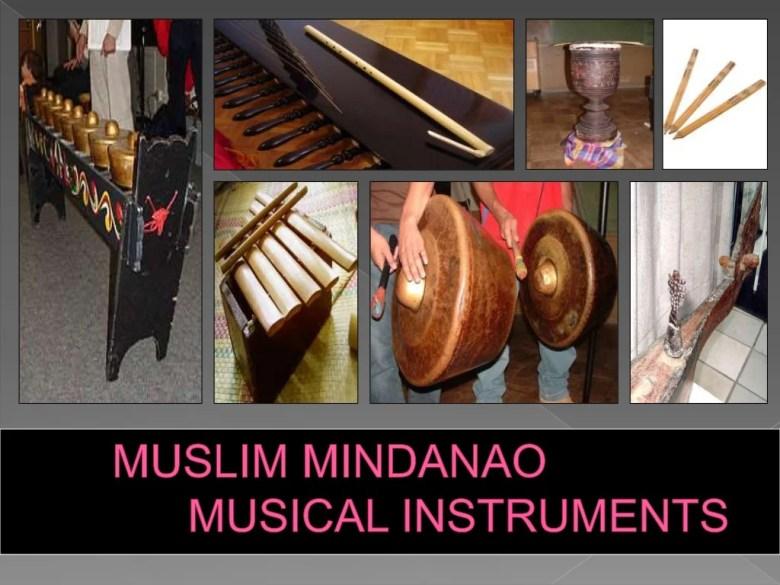 muslim mindanao instruments