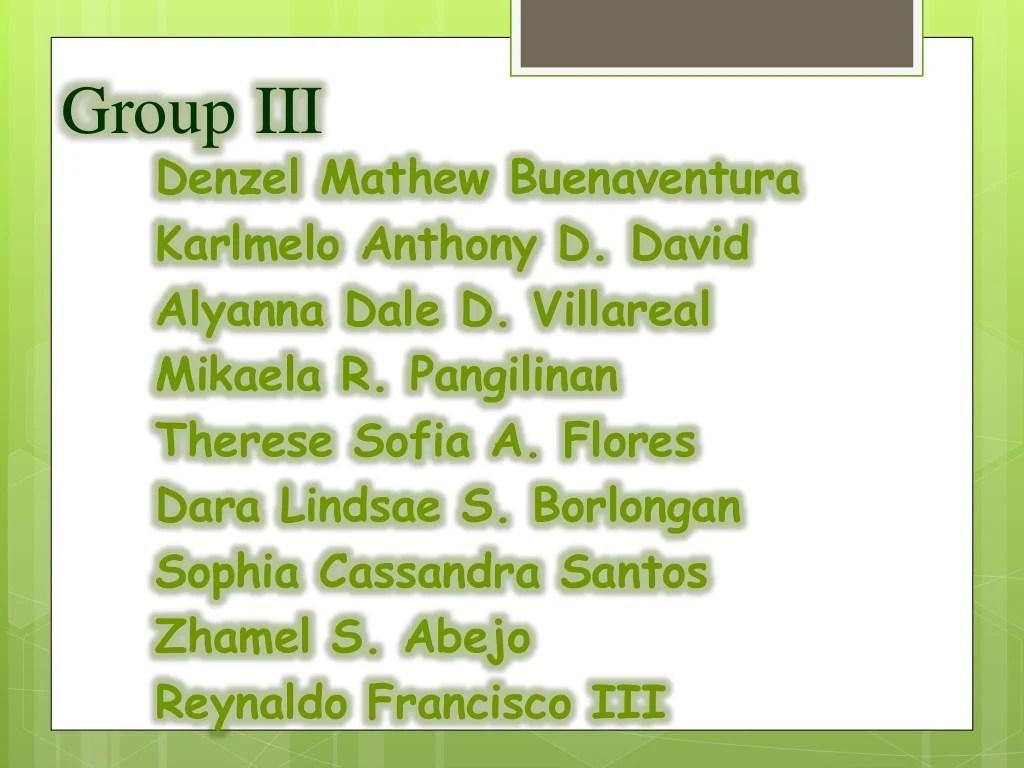 Group 3 Uri Ng Pangngalan