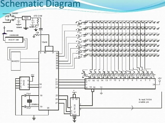 Led Display Schematic