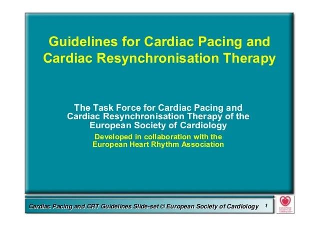 Guidelines cardiac-pacing-slides