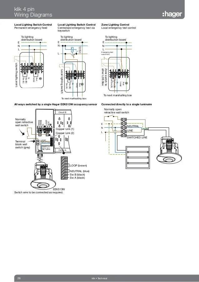Hager Klik Lighting Connection & Control Catalogue