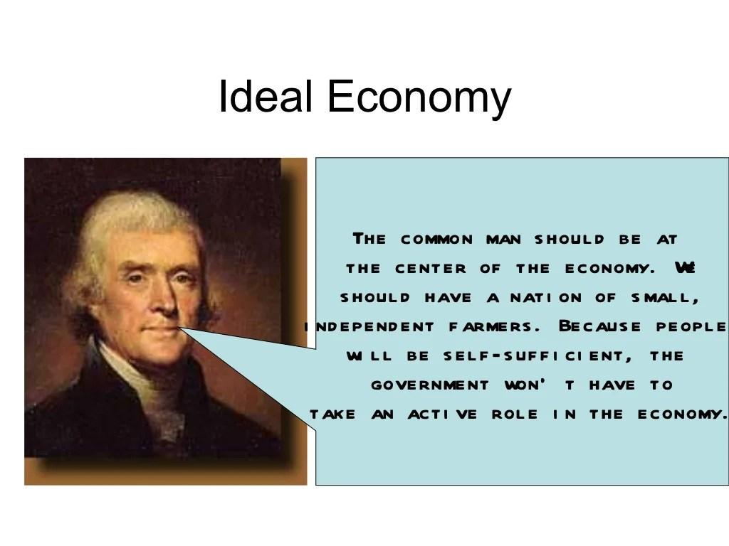 Hamilton And Jefferson Notes