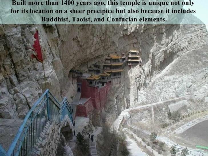 Pathway Mati Si Cliff Monasteries Location