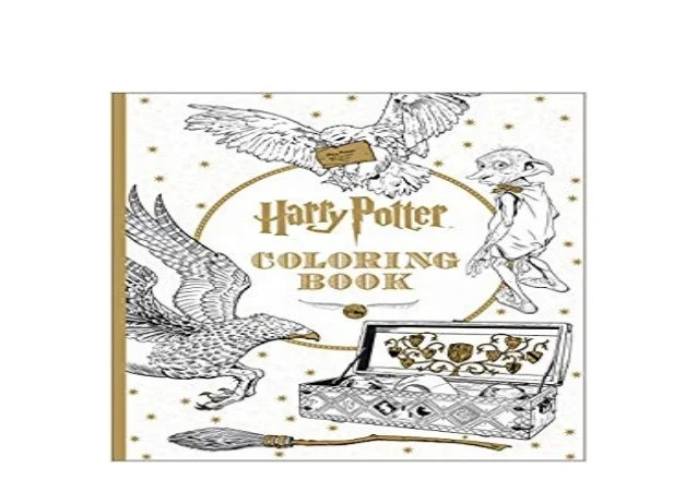 Free Download Harry Potter Coloring Book Full Pages