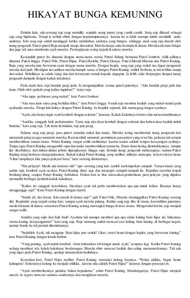 Cerita Hikayat Singkat Abu Nawas Hang Tuah Si Miskin Dll Terlengkap