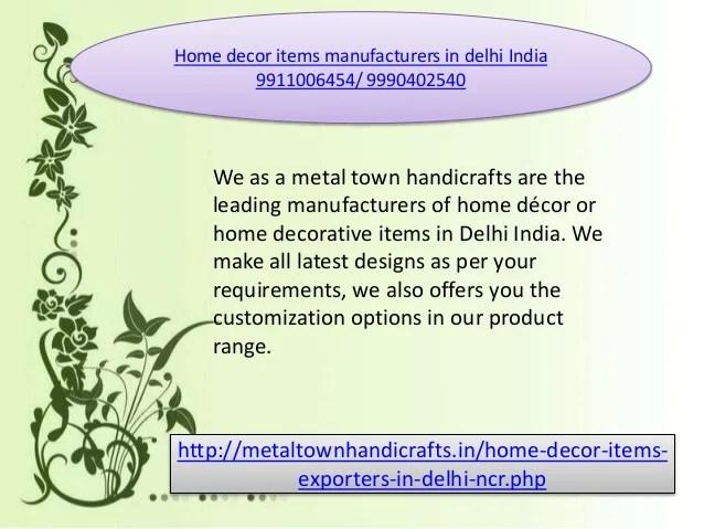 Home Decor Manufacturers