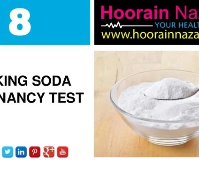 8 Baking Soda Pregnancy Test