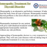 homeopathic treatment for hypothyroidismin addition, homeopathic remedies work by stimulating the bodyu0027s natural healing abilities for example, too much iodine may cause hyperthyroidism while too
