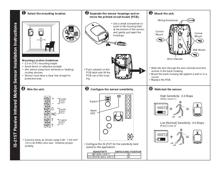 honeywell is215t install guide 1 728?resize=665%2C514&ssl=1 honeywell pir motion sensor wiring diagram wiring diagram honeywell fta wiring diagram at crackthecode.co