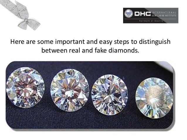Fake Vs Real Diamonds Diamonds