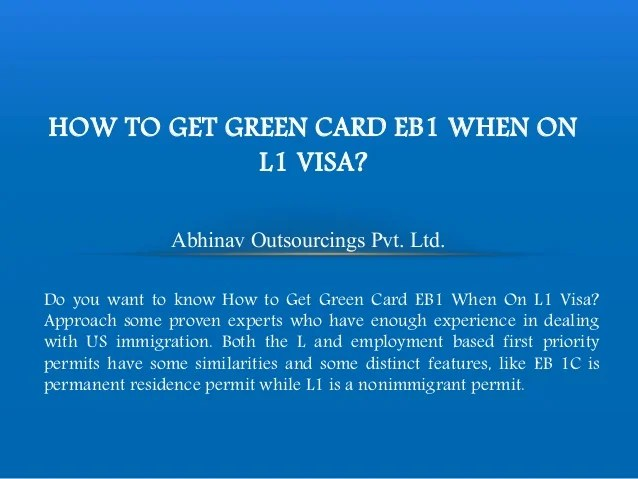 Eb1 green card timeline 2015