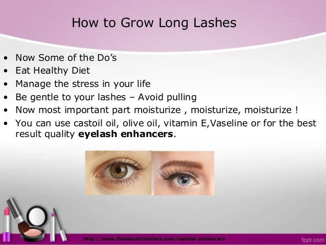 How To Grow Your Eyelashes Thicker And Longer Easily