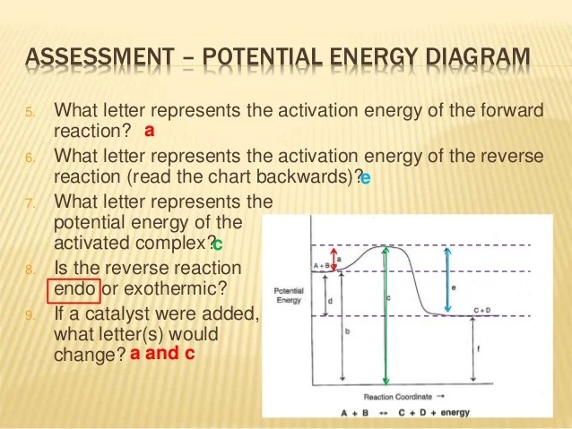 How to Read Potential Energy Diagrams