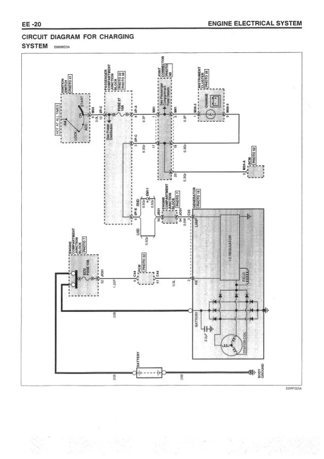 2001 HYUNDAI SONATA WIRING DIAGRAM  Auto Electrical