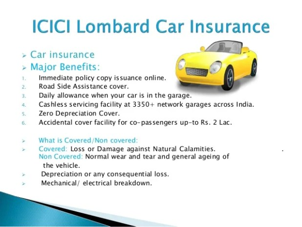 Icici Lombard Car Insurance Policy Status