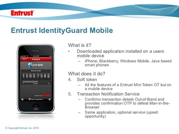 Entrust Security Token