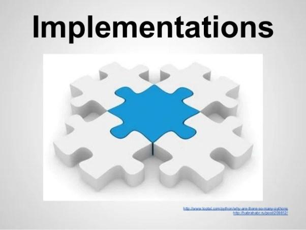 Hasil gambar untuk Implementations