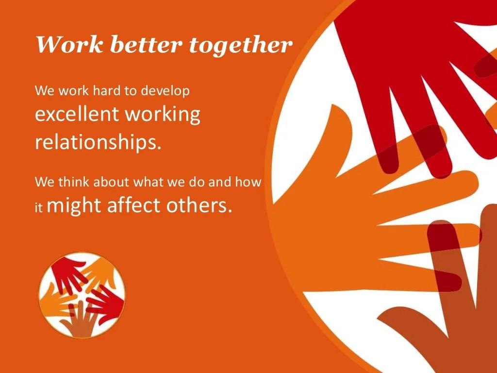 Work Better Together We Work