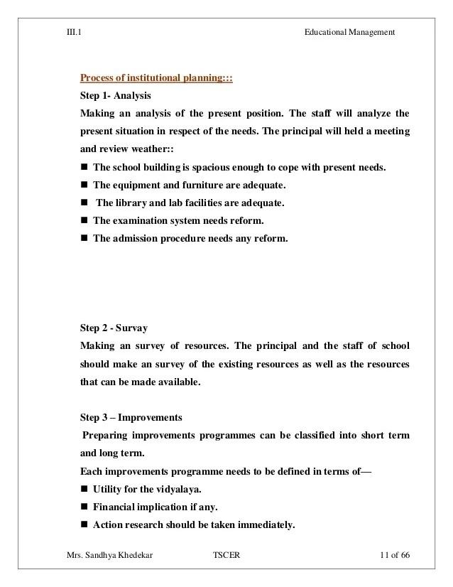 Dissertation education administration