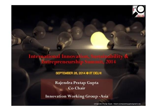 International Innovation, Sustainability ...