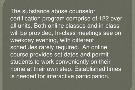 Unique Substance Abuse Counselor Certification Online Vignette ...