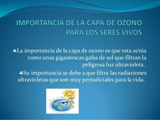 Resultado de imagen para capa de ozono