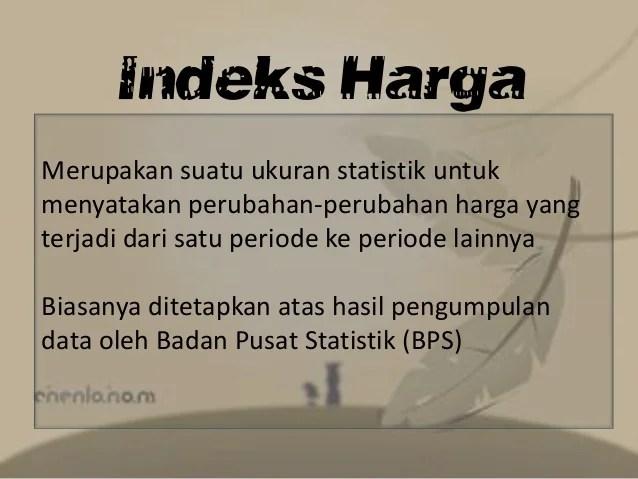 Image Result For Indeks Harga Konsumen